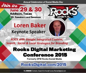 Keynoting at Rocks Digital